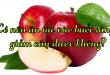 Có nên ăn táo vào buổi sáng, giảm cân được không?
